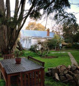 Mal and Del's new home in Maldon