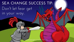 SEqa Change Sucess Tip - Don't let fear get in your way