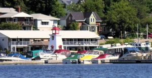 Parry Sound waterfront