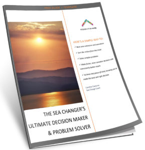 Ultimate Decision Maker and Problem solver for Sea Changers